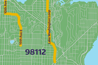imagine link to 98112 bike route map