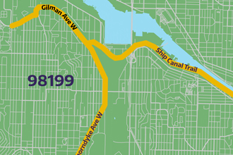 imagine link to 98199 bike route map