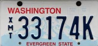 Image of Exempt license plate