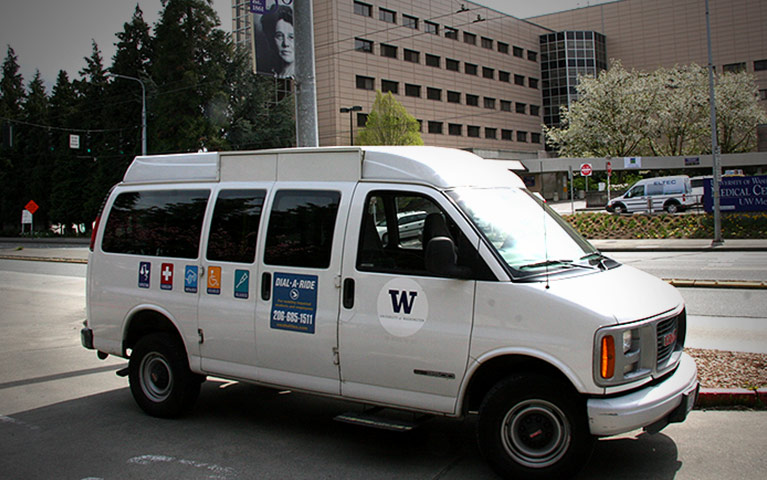 dial-a-ride shuttle van