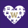 commute 101 fair logo heart with block w in center and transportation mode icons surrounding